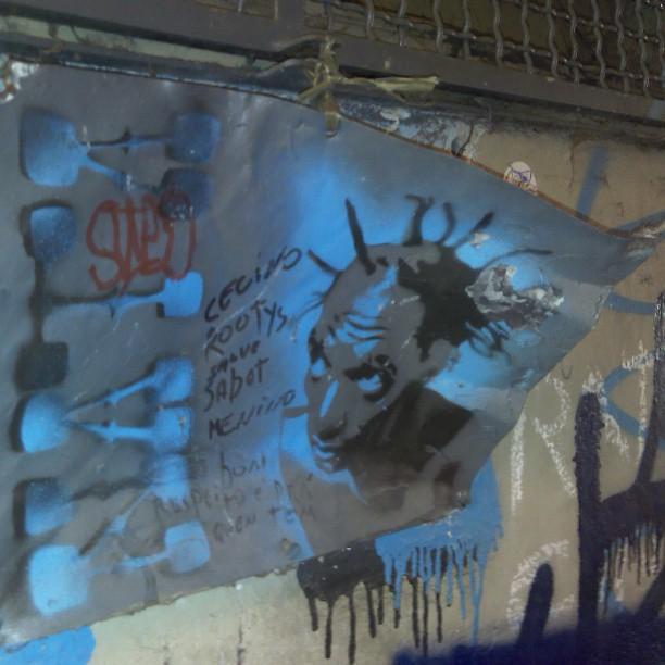E em um beco no Rio de Janeiro... #Rap #Sabotage #UmBomLugar #SP #RJ #Botafogo #Brasil #Arte #Rua #Grafite #Street #Art #InstaGrafite