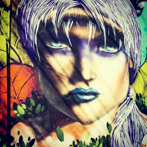 India da natureza, pintura da colorgin urban #streetartrio