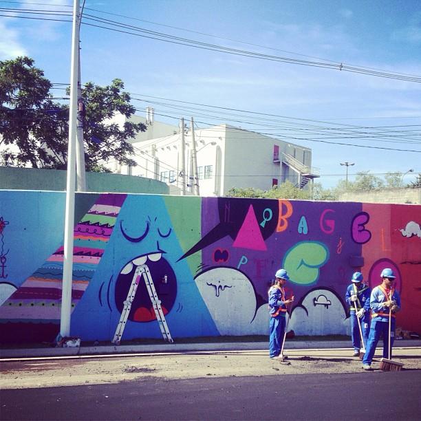 Manguinhos 2012 #graffiti #graffrio #graffitirj #graffitilife #streetartrio #streetart #zn #riodejaneiro #rj