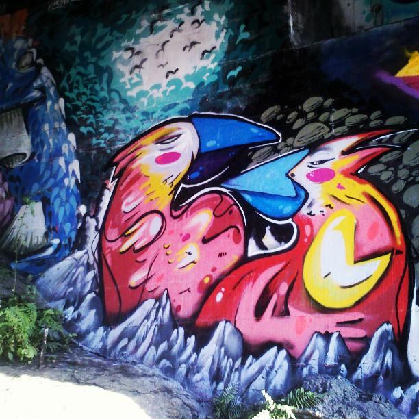 #StreetArtRio Painel externo MULTIGRAB 2013
