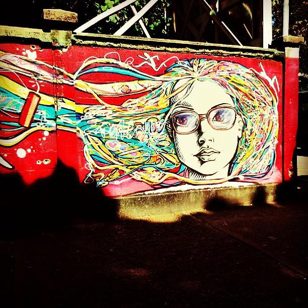 #Urca #Rio #wall #unirio #streetartrio #red