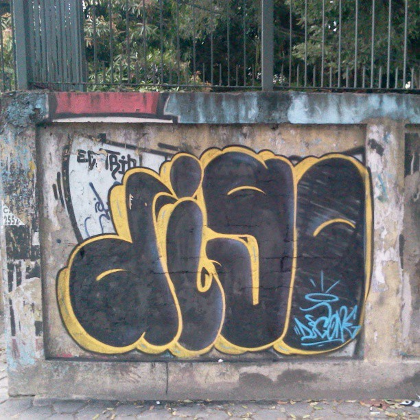 #graffitiarterio #botofogo #bombstyle