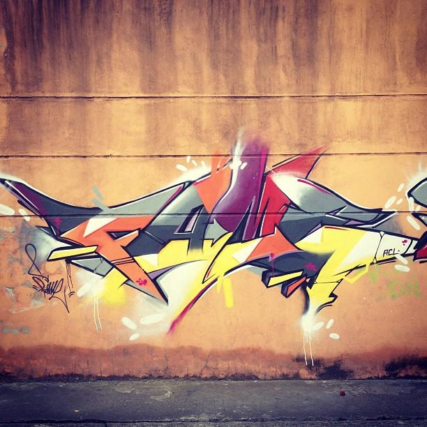 #letrinha #letter #graffiti #betofame #desenho #rapido #fame #instagrafite #instagraffiti #pintura #ruadulce #wallmart @danilostk