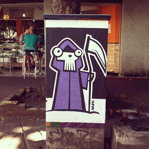 #streetartrio @rafocastro