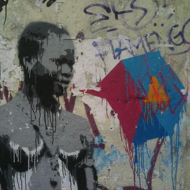 #streetartrio #denne #2013 #stencil