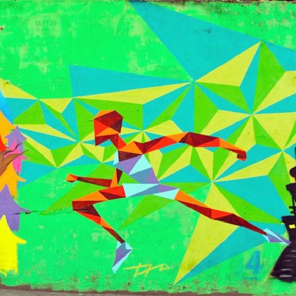 #streetartrio #graffiti #running #rocinha #graffitiart