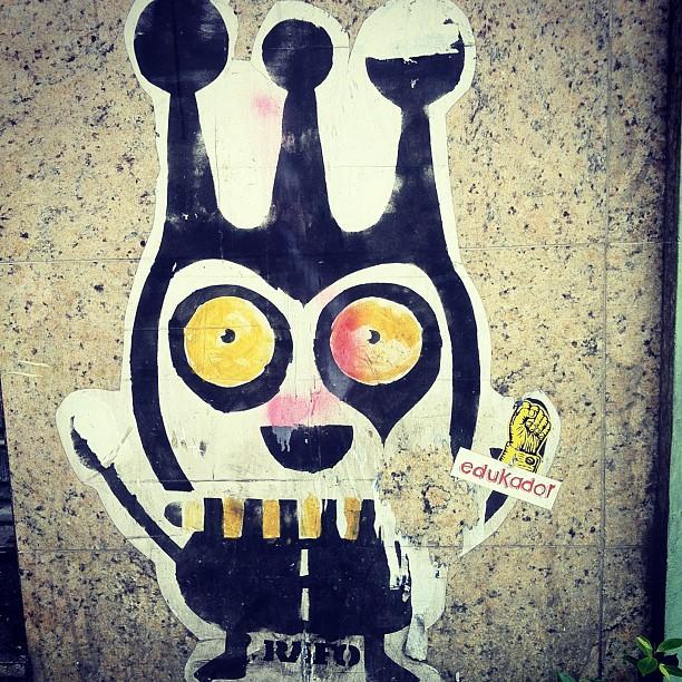 #streetartrio #rafocastro @streetartrio @rafocastro