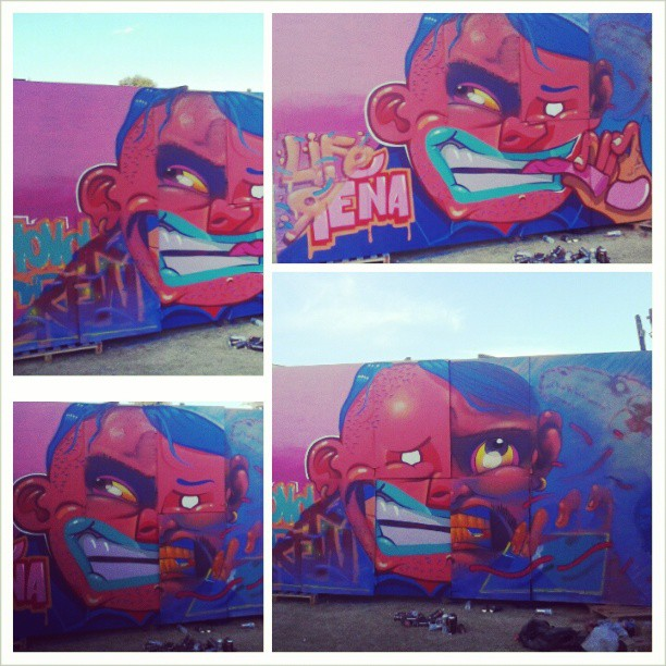 @festivalartrua #kovokcrew #vistafunky #streetartrio #graffiti