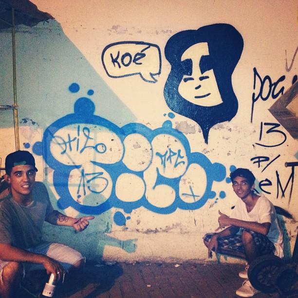 @ticocrew e #doug #streetartrio
