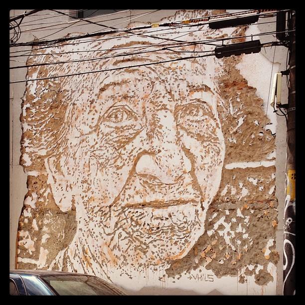 A arte está em todo lugar! #streetart #riodejaneiro #streetartrio
