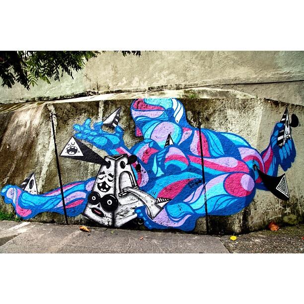 Art NY @brunobig & @mga021 Cosme Velho, RJ