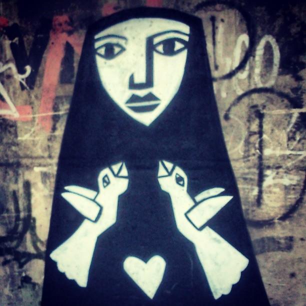 Ave Maria! #StreetArtRio
