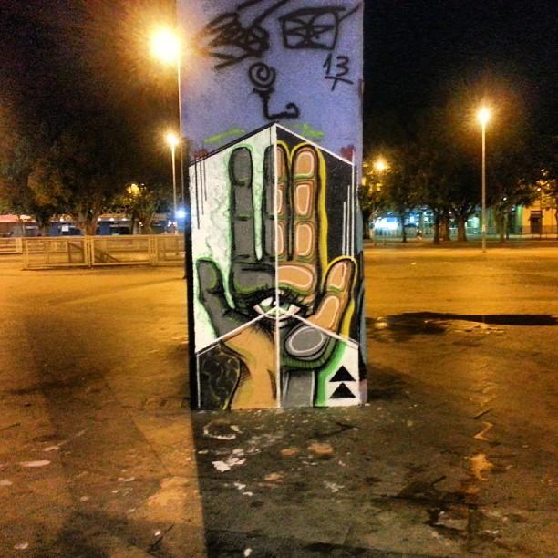 Com @rozariorafael #streetartrio #ilovexv #dubatak