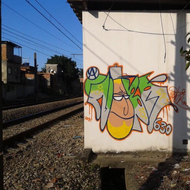 De volta a cena!!! #artistasurbanoscrew #nobã #meusrolés #ipr #lovebombing #ruasdazn #trem #caos #rj