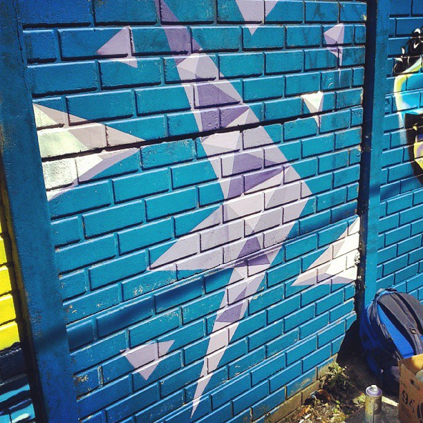 Delta #graffitiart #graffiti #streetartrio