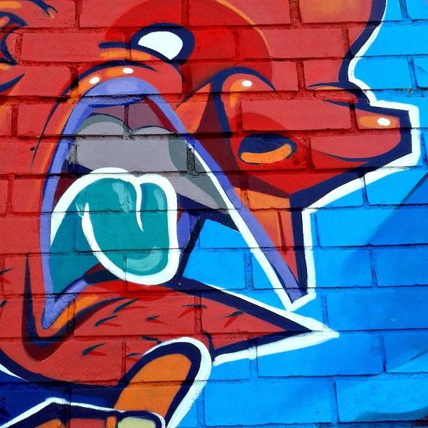 Detalhe. #kovokcrew #streetartrio #graffiti