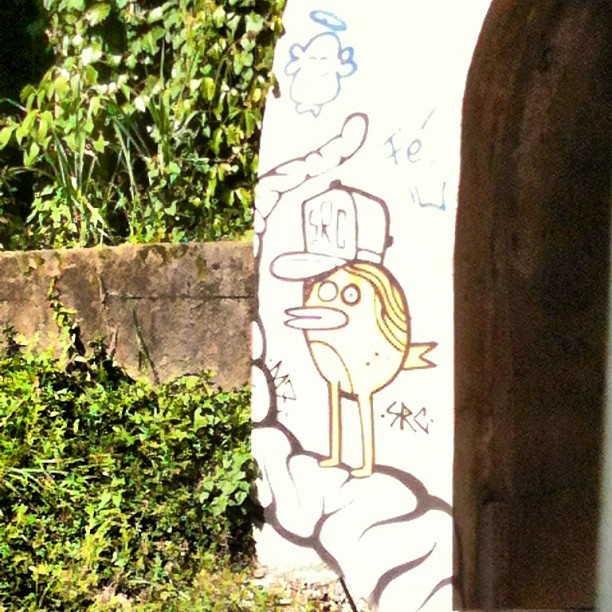 Eles sempre juntos! #src #streetartrio #arterua #grafite #rj