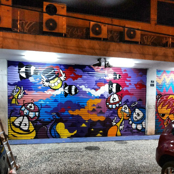 Finalizado! Rio Comprido . #impririo #streetartrio