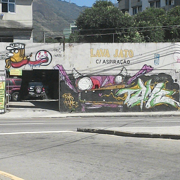 Lindo os amigos juntos! :) @rafocastro @igorsrcnunes #graffiti #streetartrio
