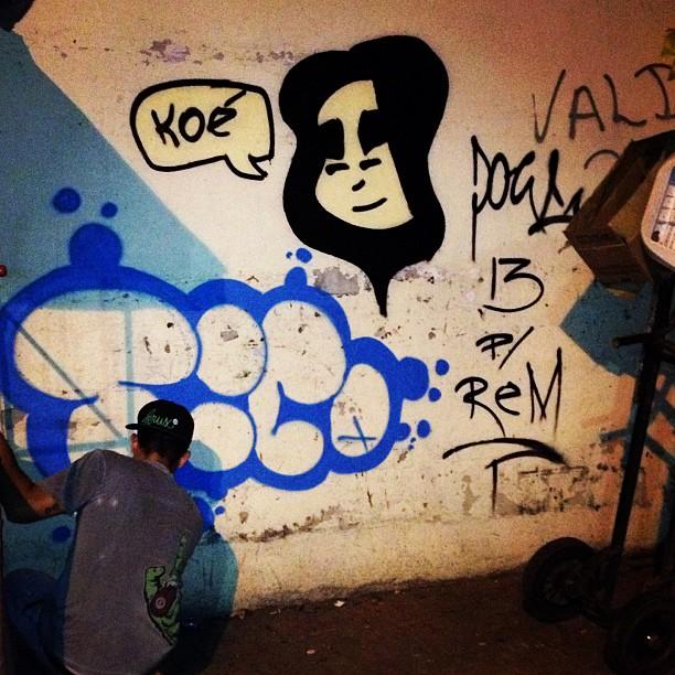 Ontem no Flamengo com meu brother Tico. Aquela dedicatória a quem sempre foi e é de verdade! Renan meu brother tmj sempre. #streetartrio #streetart #arte #mtn #mtn94 #doug #flamengo #metrorj #tico #riodejaneiro