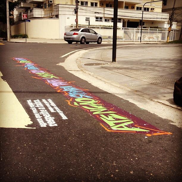 #artenafaixa #maracanã #betofame #garffiti #rioeuamoeucuido #instagrafite #instagraffiti #riodejaneiro #fame #streetartrio #diamundialsemcarro