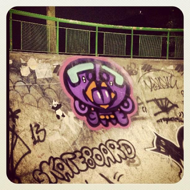 #sk8 #streetartrio #lagoa #djonereal