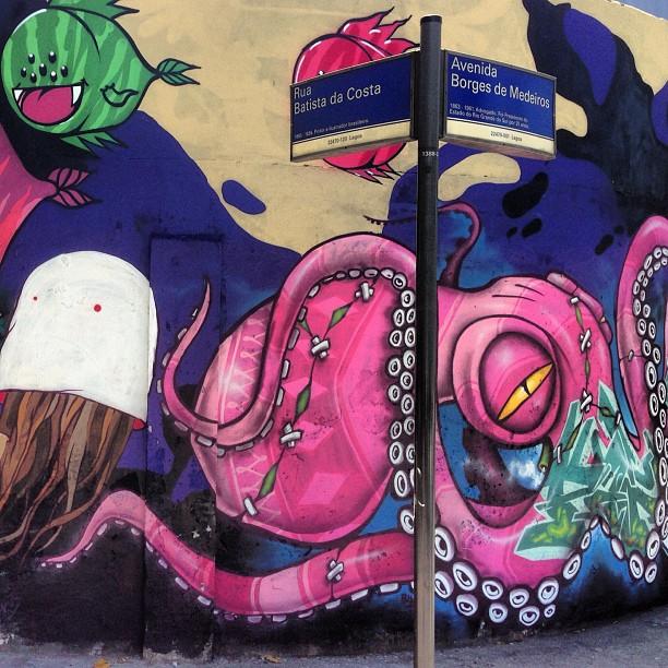 #streetartrio #binho #flip