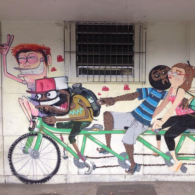 #streetartrio #nhobi #cazé