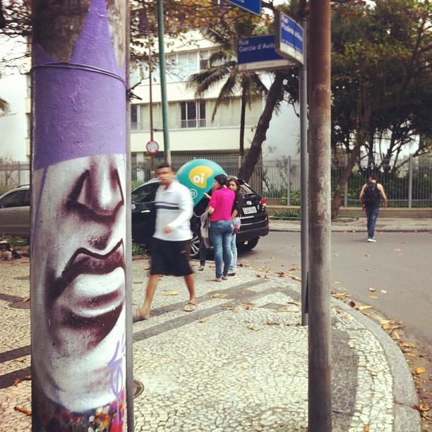 #streetartrio #poleface #graffrio #graffitrj