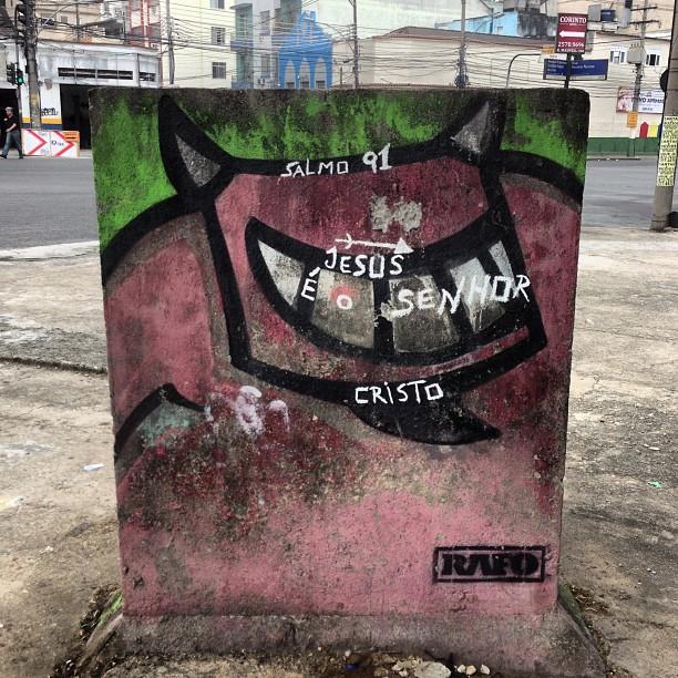 #streetartrio #rafocastro