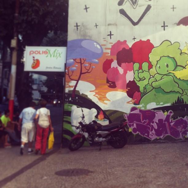 #streetartrio #rj #riodejaneiro #jardimbotanico