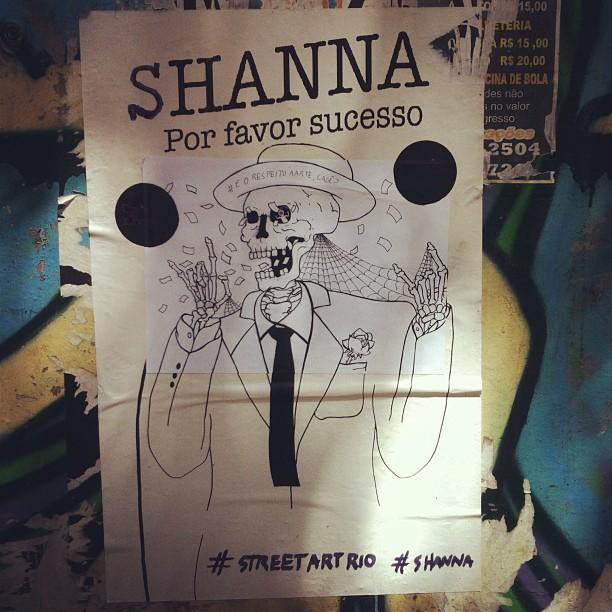 #streetartrio #shanna