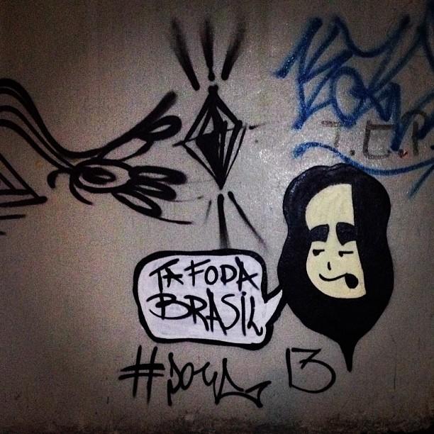 #tafodabrasil #doug #botafogo #riodejaneiro #graffit #streetartrio #streetart #artederua