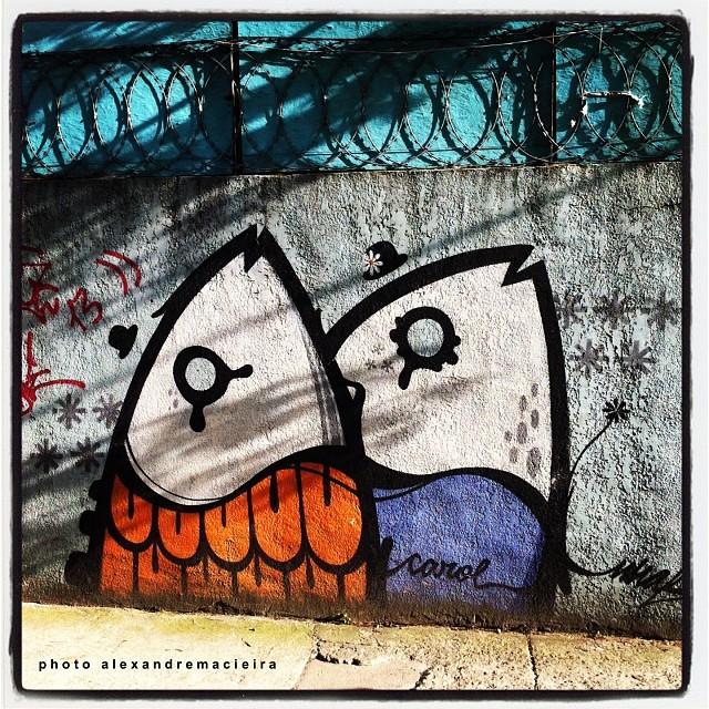 Arte de Rua na Lagoa - Rio de Janeiro. | Photo: Alexandre Macieira