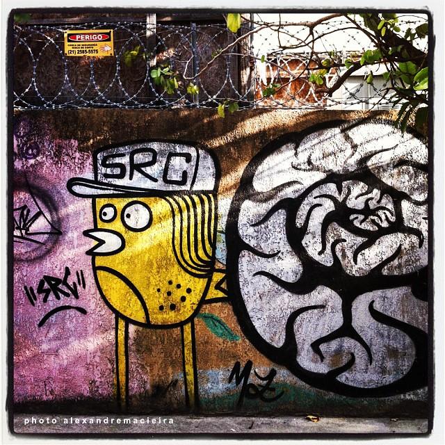 Arte de Rua na Lagoa - Rio de Janeiro.   Photo: Alexandre Macieira