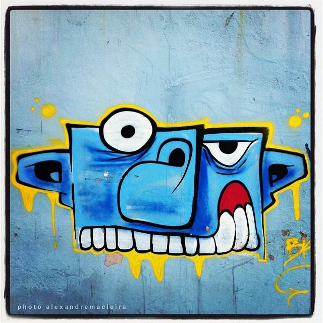 Arte de Rua na rua Humaitá - Rio de Janeiro. | Photo: Alexandre Macieira