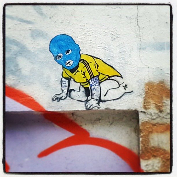 Arte realizada junto com meu camarada @phellipecd #streetart #streetartrio #stencil #lambelambe #colagem #rio