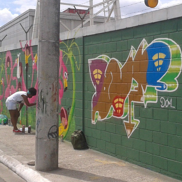 Av. Brasil #maré #dum #instagrafite #graffiti #montana94 #artederua #arteurbana #graffiticarioca #streetart #streetartrio