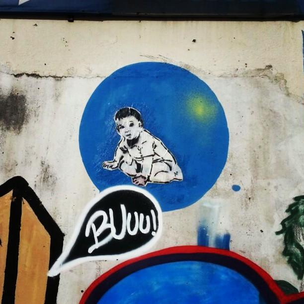 Centro da cidade. #streetartrio #streetart #colagem #stencilart #lambelambe