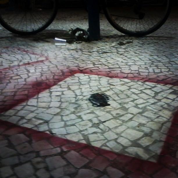 DANGER não pise. #streetart #streetartrio