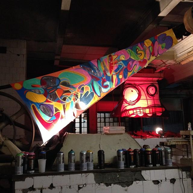 Detalhe com @rafocastro , amanha e domingo no #budadefora na #bhering ! #spraypaint #freestyle #freestyle #streetartrio #riodejaneiro #rj #rio #mentone #marceloment