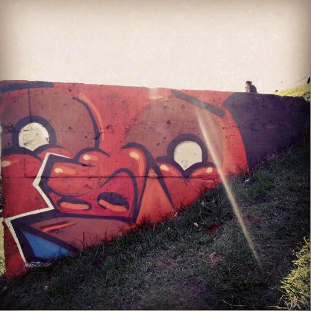 Enterrado! #kovokcrew #instagrafite #graffiti #streetartrio