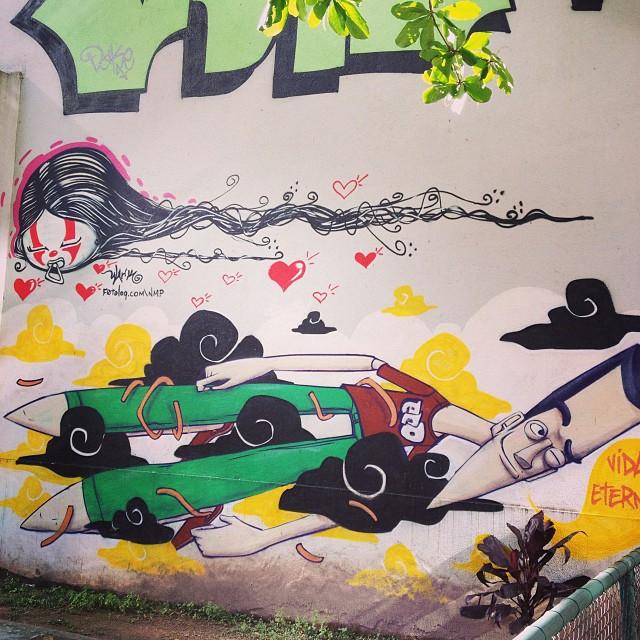 Marcelo Eco e NMP #streetartrio #marceloeco