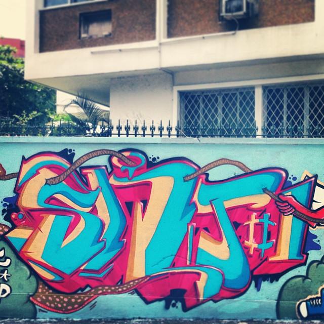 Minha parte da produção com a irmandade. #streetartrio