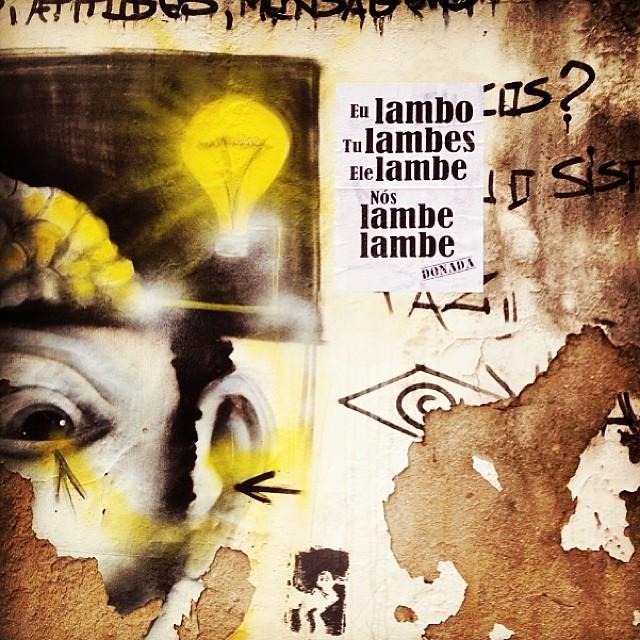 Nós #lambe #lambe no RJ!! #circuitogrude #donada