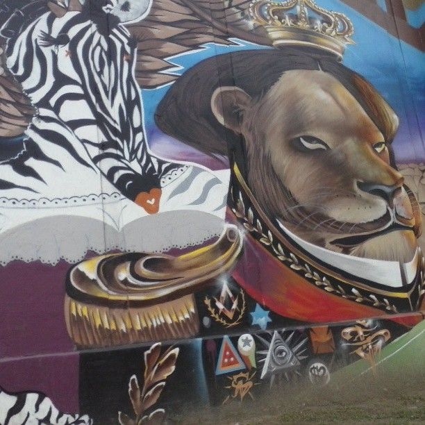 #Streetartrio #streetart #art #riodejaneiro #lion #king