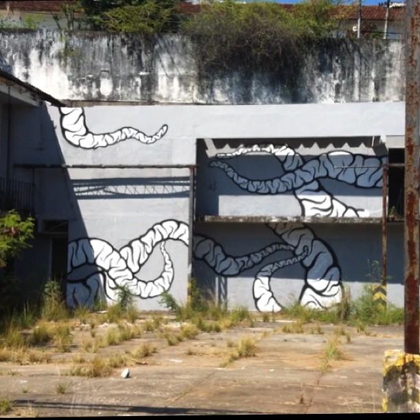 Ta indo.... #streetartrio #streetart #graffiti
