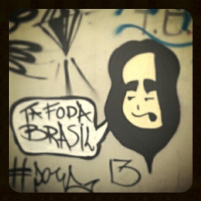 Tá mesmo. #rio #streetart #graffiti #igersrio