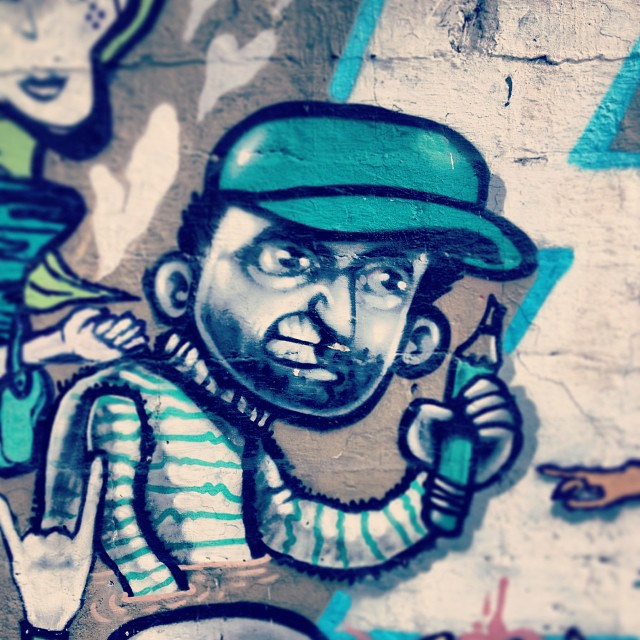 Treinamento! - 2012 #streetartrio #carvas