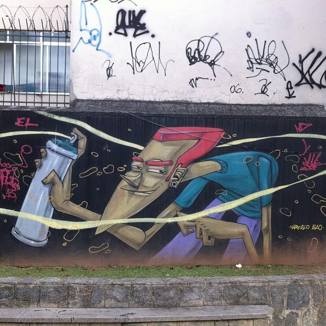 foto de @ArteRuaRio & arte de rua de @marceloeco | #ArteRuaRio #marceloeco #eco